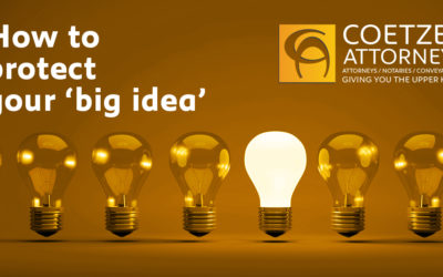 How to protect your 'big idea'